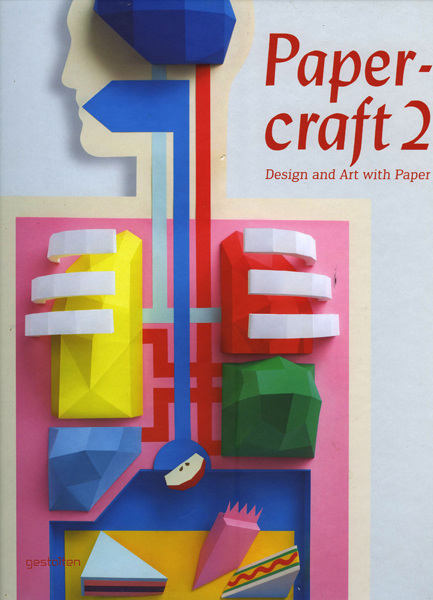Book Cover Craft Update : Paper craft book elsadray farges